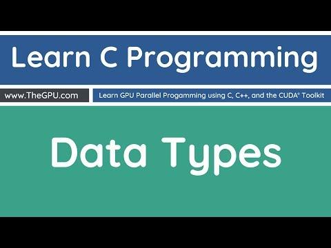 Learn C Programming - Fundamental Data Types