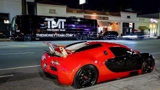 Floyd Mayweather Flexes Supercars with Tyga
