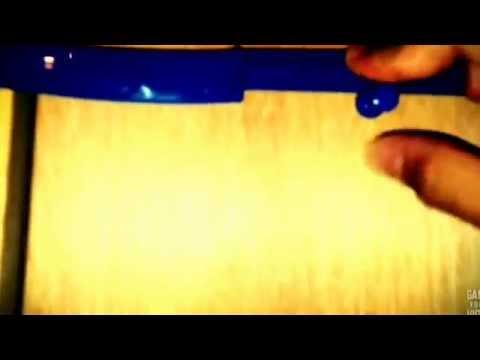 How to make a door lock using a knife ,& thumbtack (optional)