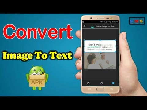 image to text converter app for android Free