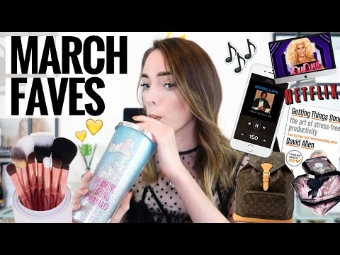 MARCH FAVOURITES 🌹 MAKEUP BRUSHES, LOUIS VUITTON, NETFLIX, SPOTIFY and more! | CIARA O DOHERTY