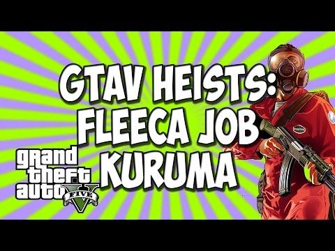 GTA V Heists | Fleeca Job | Kuruma | Setup Mission 2 | Grand Theft Auto Five