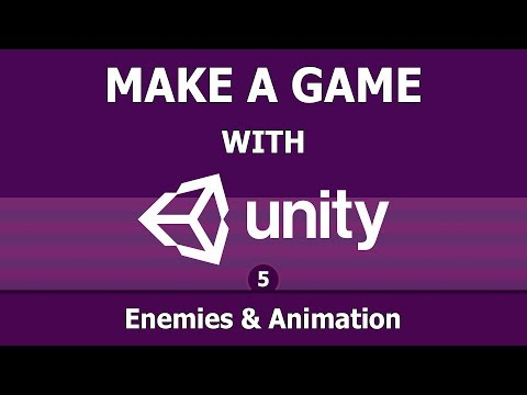 Unity game making (5) : Enemies and Animation
