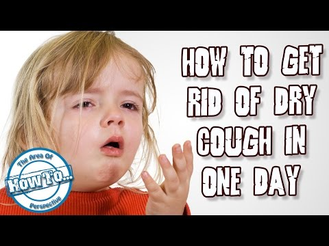 how to get rid of a dry cough very fast