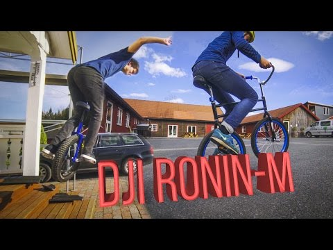 Dji Ronin-M - Unicycle and Swingbike