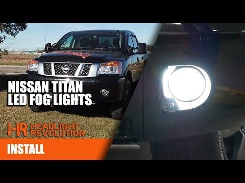2003 - 2015 Nissan Titan Supernova LED Fog Light Bulb Upgrades | Headlight Revolution
