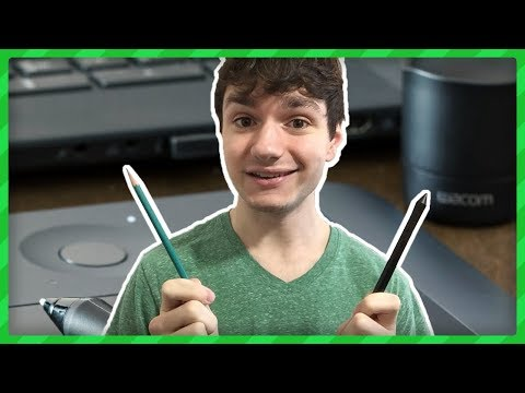 How to Hold a Graphics Tablet Pen Correctly [ ERGOMICS! ]