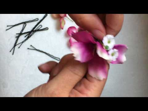 Easy Diy Flower Hair Pins