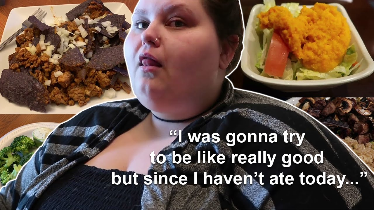 Amberlynn Reid Deciding She Is Not Sticking To Her Diet Today   Part 2
