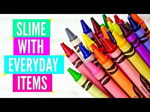 How To Make Slime With Everyday Home Ingredients// Testing Popular No Borax No Glue Slime Recipes!