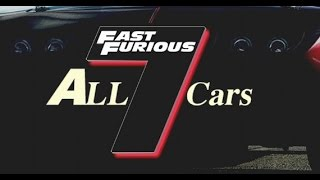 Fast and Furious 7 - Complete List of Cars 2015