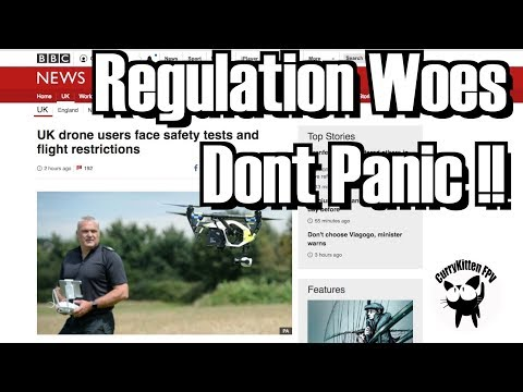 New UK Drone rules released today - Don't Panic !