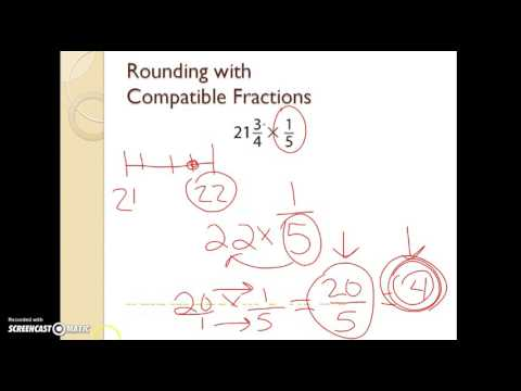 11-3 Estimation Products of Fractions