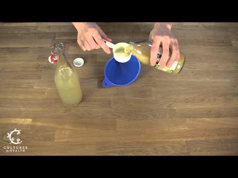 Water Kefir - Lemonade