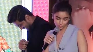 Alia Bhatt looses her patience when asked a GK question | Video