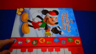 mickeys play a long christmas songs play a song piano sound books fun toys mickeys clubhouse kids - Mickey Mouse Christmas Songs
