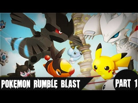 Pokémon Rumble Blast - Beginner's Park