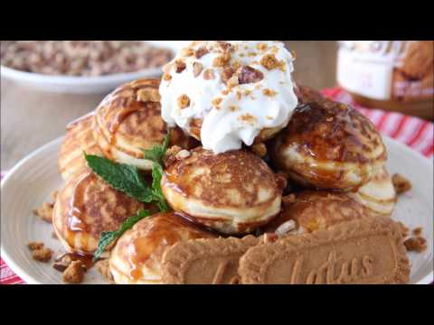 Biscoff Cookie Butter Pancake Poppers & 2nd Blogiversary $100 Sur la table Giveaway | Say Grace