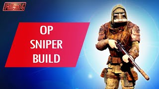 Fallout 4: How To Make an OP SNIPER Build...