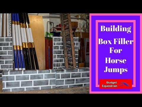 How To Build Boxes For Horse Jump Fillers