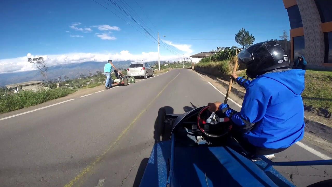 Carrera de coches San José huambalo