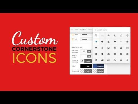 Cornerstone Icons (Featured Plugin)
