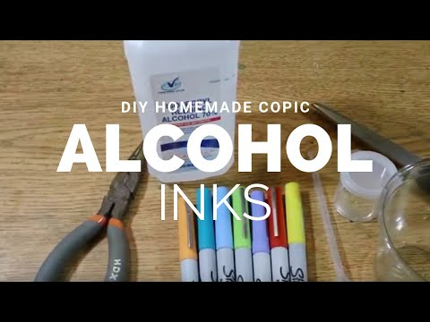 Diy: Homemade Copic Alcohol inks
