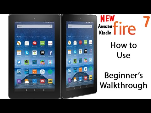 How to Use NEW Amazon Fire 7 Tablet ($49.99) - Beginners Walkthrough | H2TechVideos