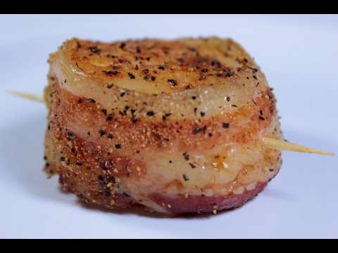 Bacon Wrapped Scallops | EASY TO LEARN | QUICK RECIPES