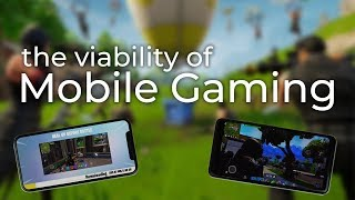 The Viability of Mobile Gaming