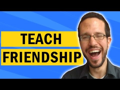 How to help a child with autism make friends