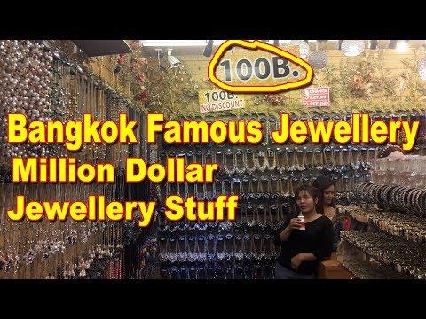 Bangkok Famous Jewellery Market | Better Than India | Million Dollar Stuff | Indra Market...