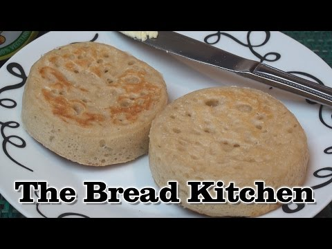 Home-Made Crumpets Recipe in The Bread Kitchen