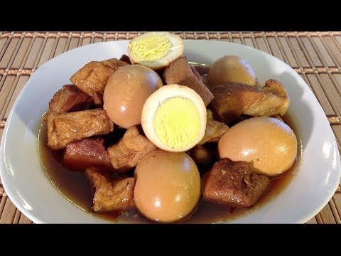 Braised Pork Eggs And Tofu-Thit Kho Tau-Dau Hu-Vietnamese Food Recipes
