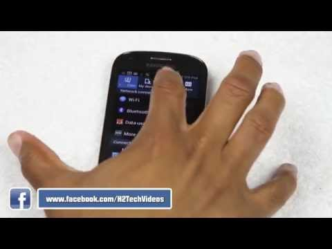MetroPCS Galaxy Light - How to Reset Back to Factory Settings   H2TechVideos