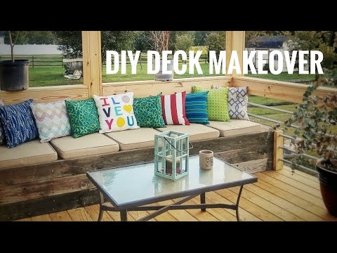 How To Makeover Your Deck - OurHouse DIY