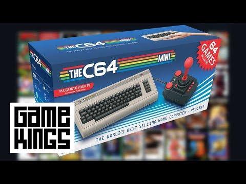 JJ en Boris gaan terug naar de 80's met de C64 Mini