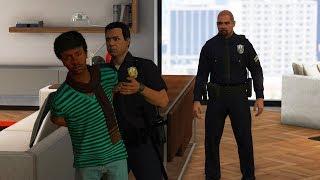 GTA 5 - SWAT Team ARRESTS GTA Online Players in APARTMENTS