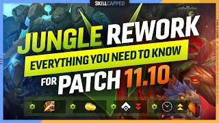 The JUNGLE REWORK: Everything You NEED to Know for Patch 11.10 - League of Legends Season 11