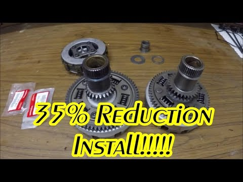35% Honda Rubicon Gear Reduction Install