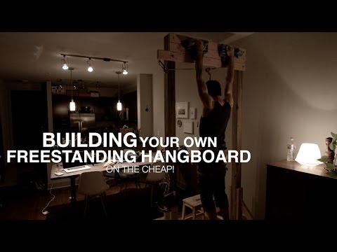 Building a Freestanding Hangboard
