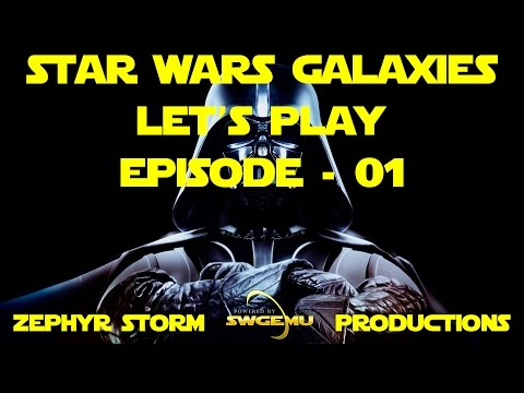 SWGEmu Star Wars Galaxies - Let's Play - EP1