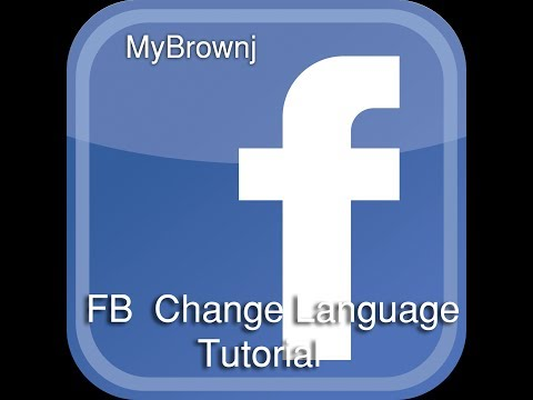 How to Facebook Change Language