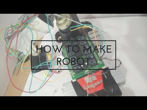 HOW TO MAKE ROBOT WHICH CAN DO YOUR WORK | VERY EASY|