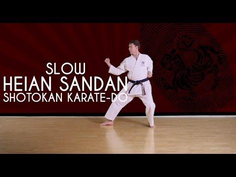Heian-Sandan (SLOW) - Shotokan Karate.Do JKA