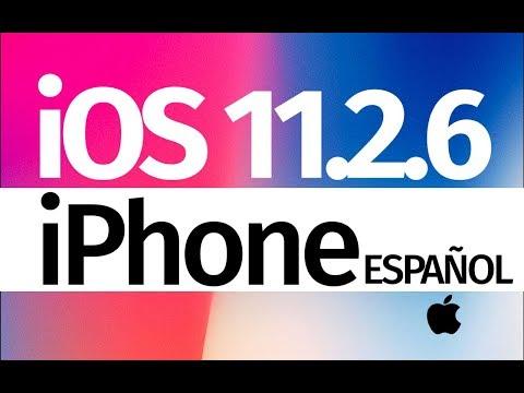 Como Actualizar al iOS 11.2.6 - iPhone 5S iPhone SE iPhone 6 iPhone 7 iPhone 8 iPhone X