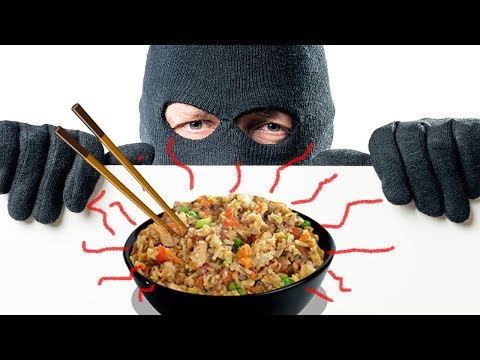 MUST WATCH!! There is a Shrimp Fried Rice Thief?!