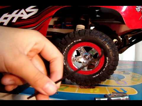RC how to: removing a wheel from an rc car/truck