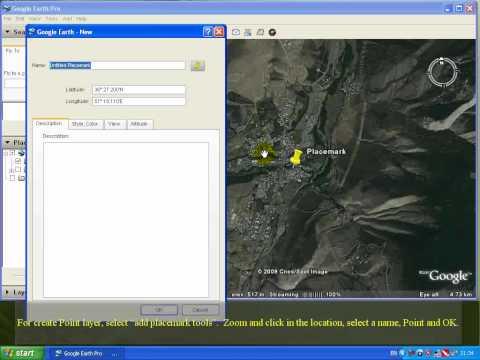 Google Earth - (001): Google Earth » KML2SHP » ArcGIS (Part 1) »» English Version ««