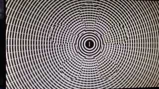 Eye optical illusion feels like your about to fall down
